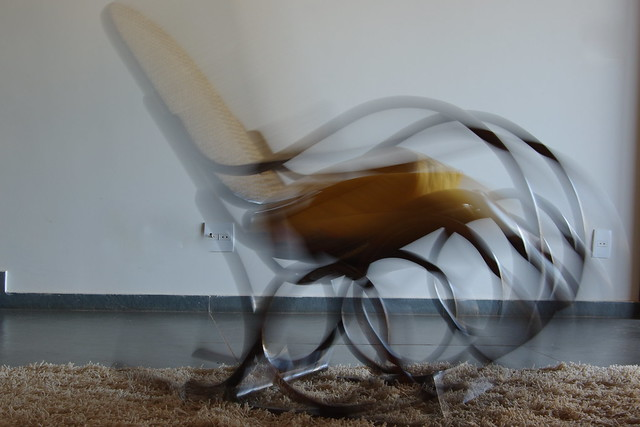 Scary Rocking Chair ~ Ghost in a rocking chair flickr photo sharing