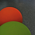 Round cushions (low seats)