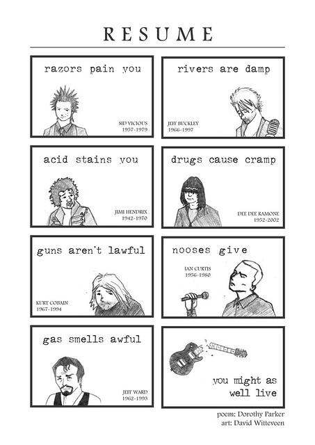 resume comic