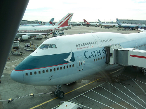 Cathay Pacific Airways B747-467, B-HUF