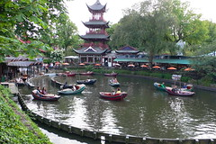 Tivoli gardens pond