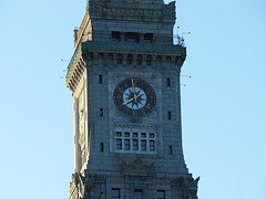 Boston clock tower