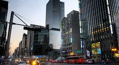 Gangnam streets