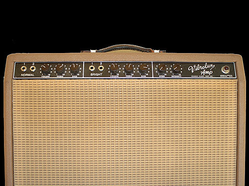 1961 Brown Fender Vibrolux