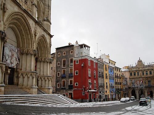 Cuenca, Patrimonio de la Humanidad, Plaza Mayor
