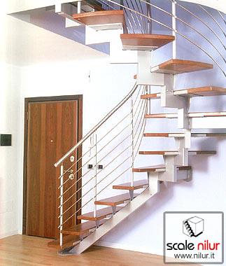 Scala a giorno in metallo e legno per interni mod. Camogli elicoidale - www.nilur.it  Flickr ...