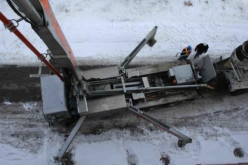 ontario concrete theatre pump capitol chatham reconstruction schwing