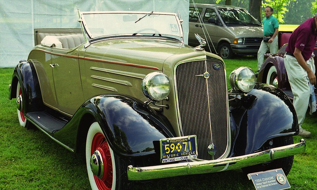 1934 Chevrolet Master roadster | Richard Spiegelman | Flickr