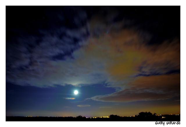 SKY NIGHT LONG EXPOSURE