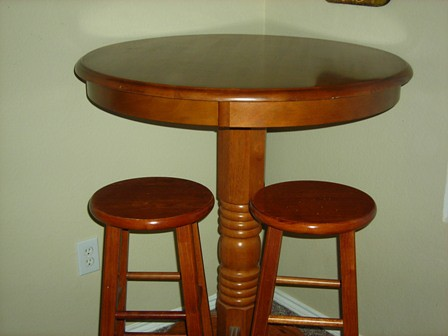 Bar Table And Stool Sets Bar Table And Antique Bumper