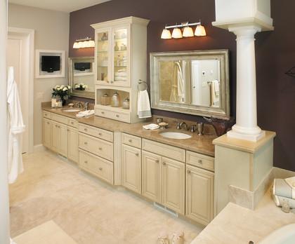 Elegant Bath Cabinets Fieldstone Cabinetry Flickr Photo Sharing