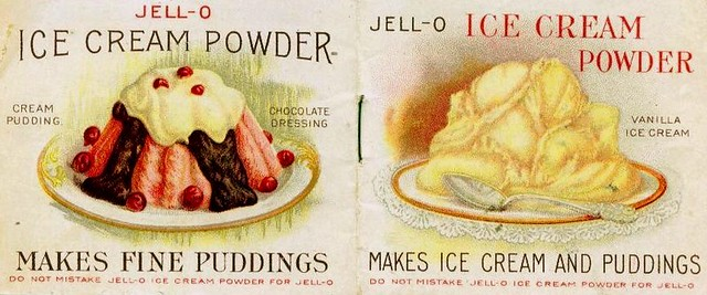 1910 Jell-O Ice Cream Powder Cookbook