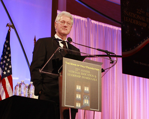 President Clinton - 2010 SIF Lifetime Achievement Award for Public Service