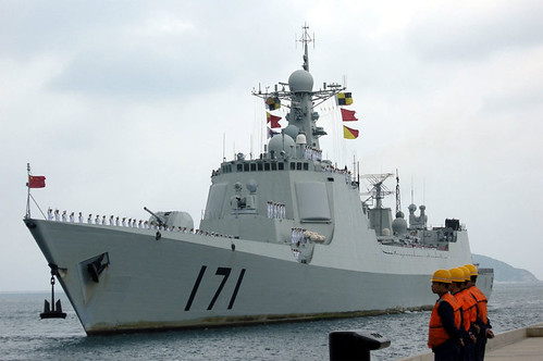 DDG-171 Haikou (Type 052C) Destroyer back from first naval operation in Somalia