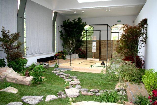 Cr nica de la viii gran exposici n en el real jard n for Casa con jardin barcelona