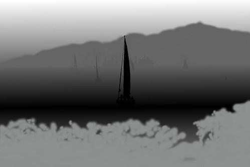 20090910-vancouversunset-faketiltshift-depthmap-DSC02123