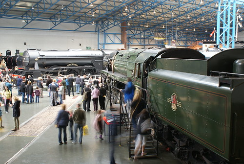 Flying Scotsman & Evening Star