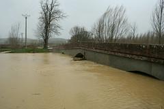 The Swollen River Save, Levignac - 'La Tempête Hivernale'