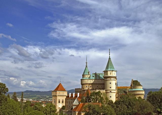 Bojnice Zamok (HDR3f), Slovakia
