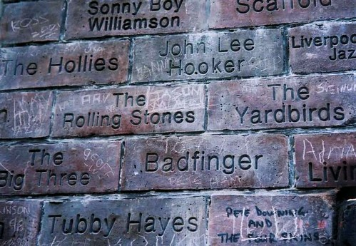 Matthew Street Brick Wall, Liverpool
