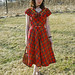 40's Plaid Dress