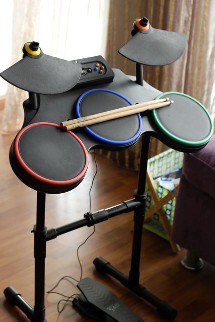 guitar hero world tour drum set for xbox 360 flickr photo sharing. Black Bedroom Furniture Sets. Home Design Ideas