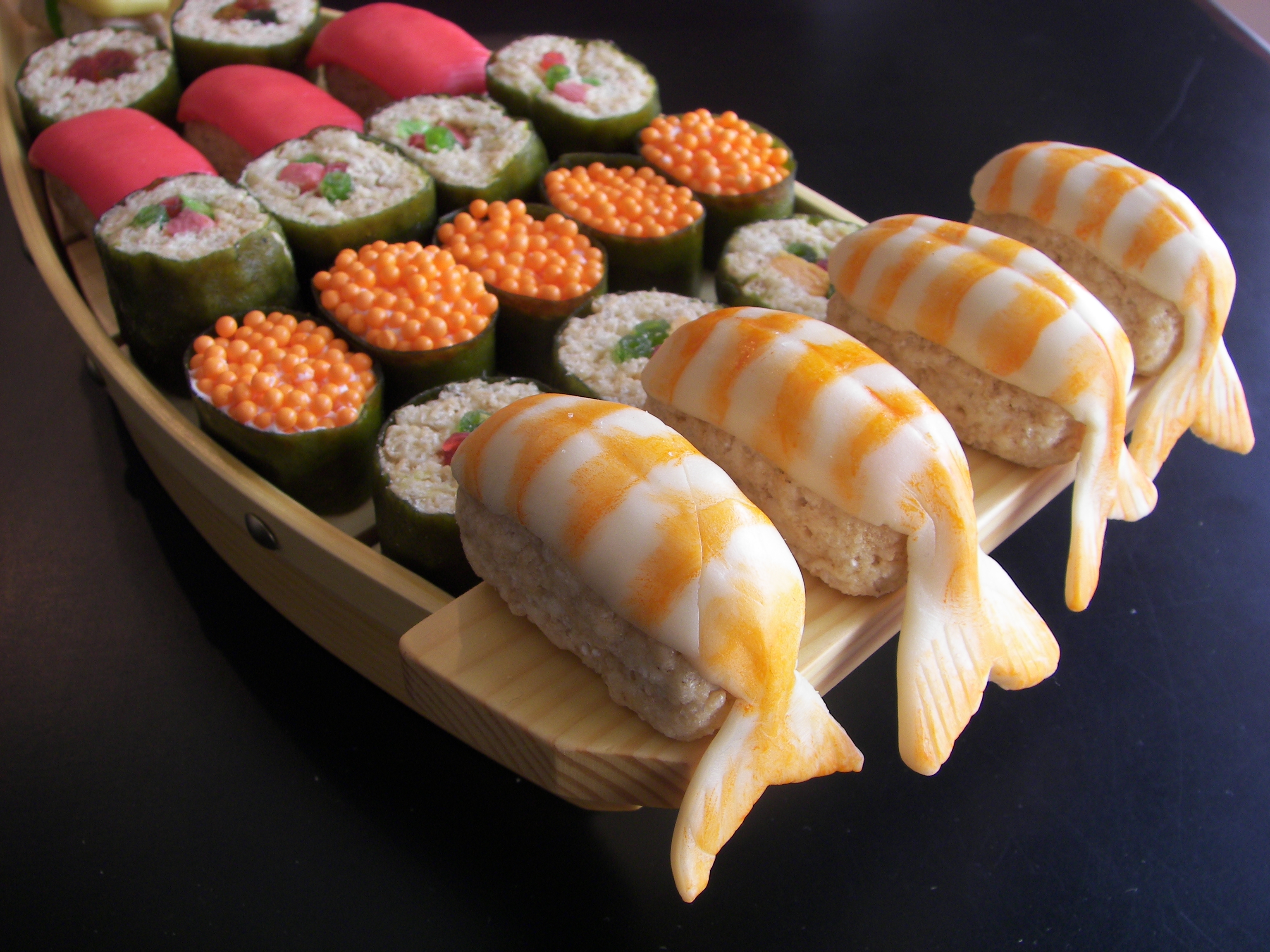 dessert sushi | Flickr - Photo Sharing!