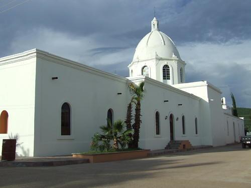 Templo de Nuestra Señora de Los Angeles, en Sahuaripa, Sonora