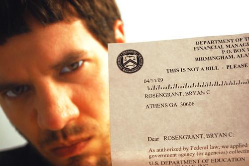 student loan paper