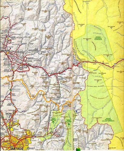 Mapa vial de Chile (Chile road map)