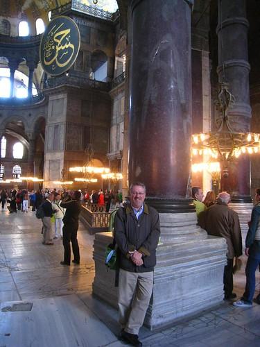 Hagia Sophia - me by Michael Tinkler