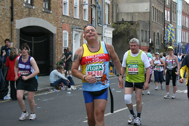 2009 London Marathon - after 14 miles