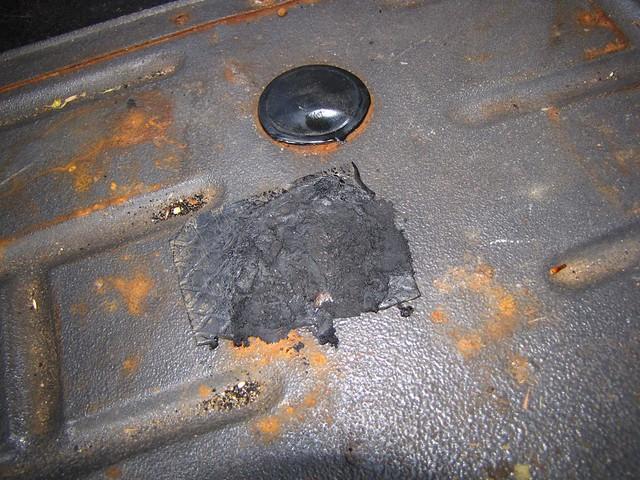 Petit Trou Dans Le Bois - Réparation petit trou dans plancher Flickr Photo Sharing!