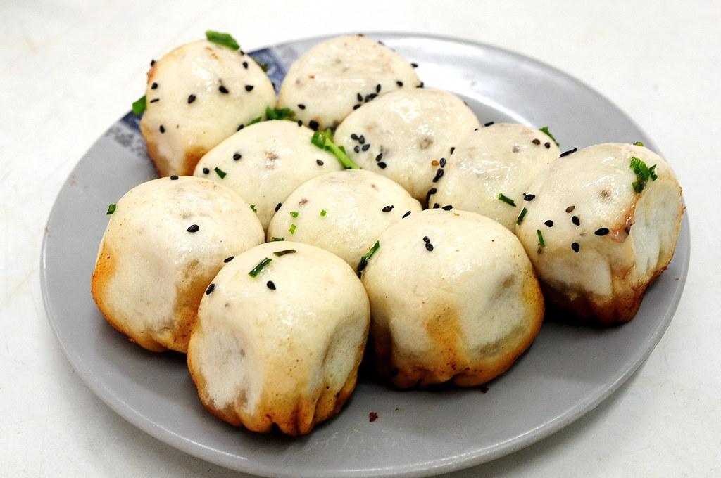 上海豐裕生煎-蝦肉生煎(一份4個4元)