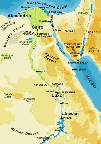Ancient Egypt City Map | Flickr - Photo Sharing!