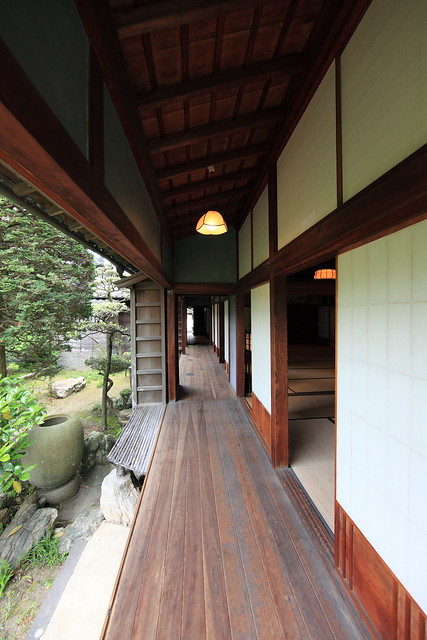japanese traditional style samurai house