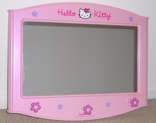 ... Get Information about Hello Kitty Hello Kitty Lighted Make Up Mirror
