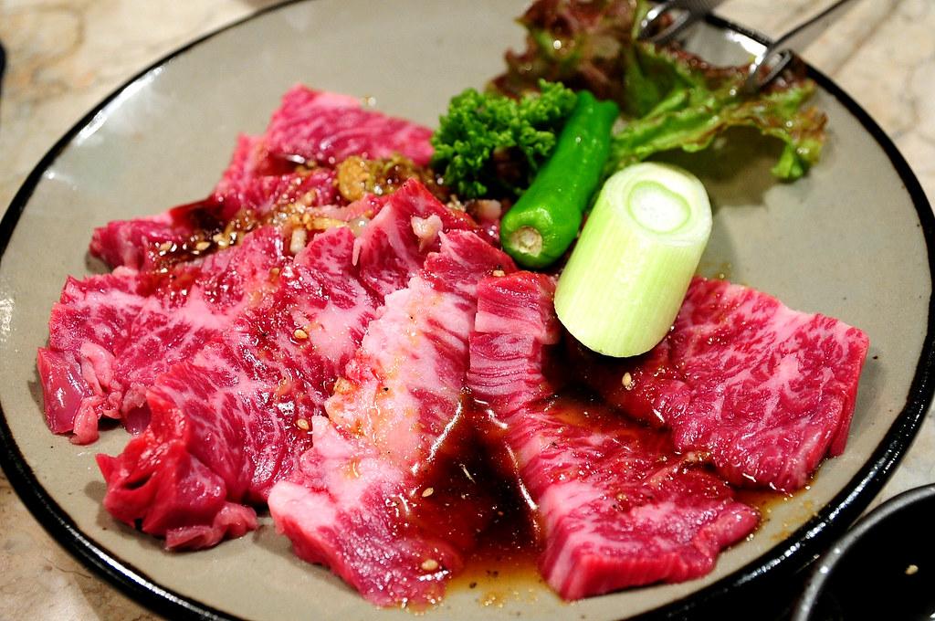 秘苑燒肉-牛橫隔膜 嚴選上ハラミ (1600)