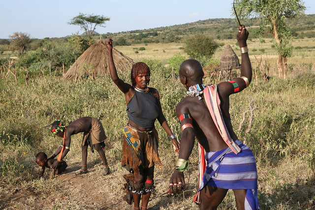 African Tribe Rituals Women