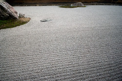 Zen Garden at Ryoan-ji