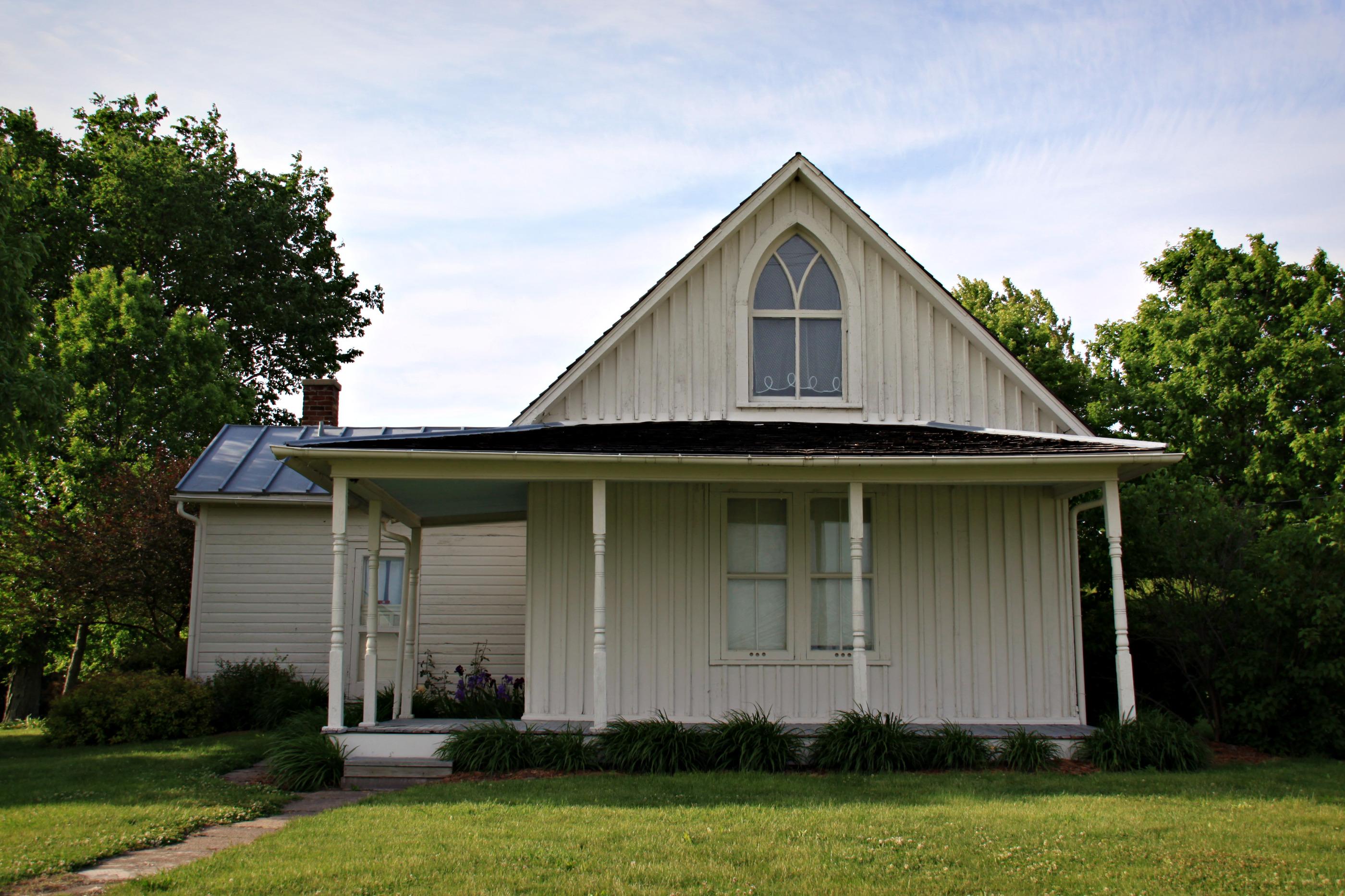 american gothic house eldon iowa flickr photo sharing