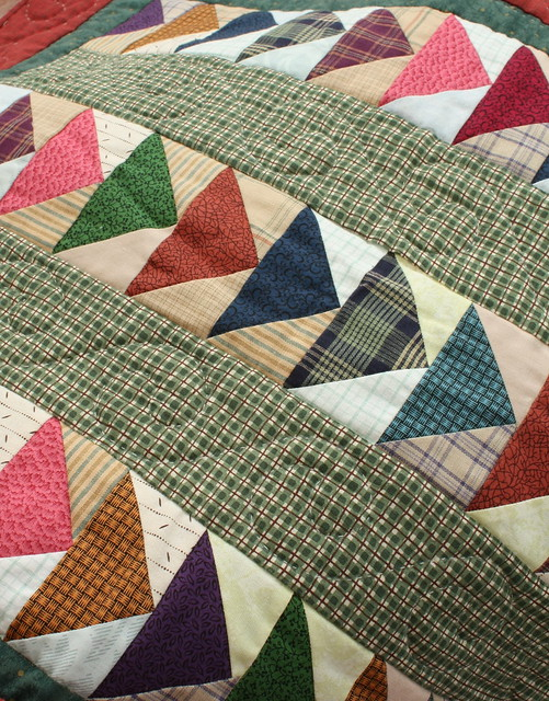 Scrappy Flying Geese Patchwork