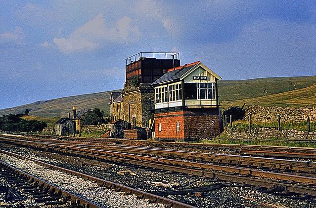 Blea Moor Signal Box Blea Moor Signalbox Taken In August