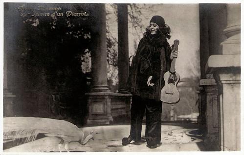 Diana Karenne in Histoire d'un Pierrot