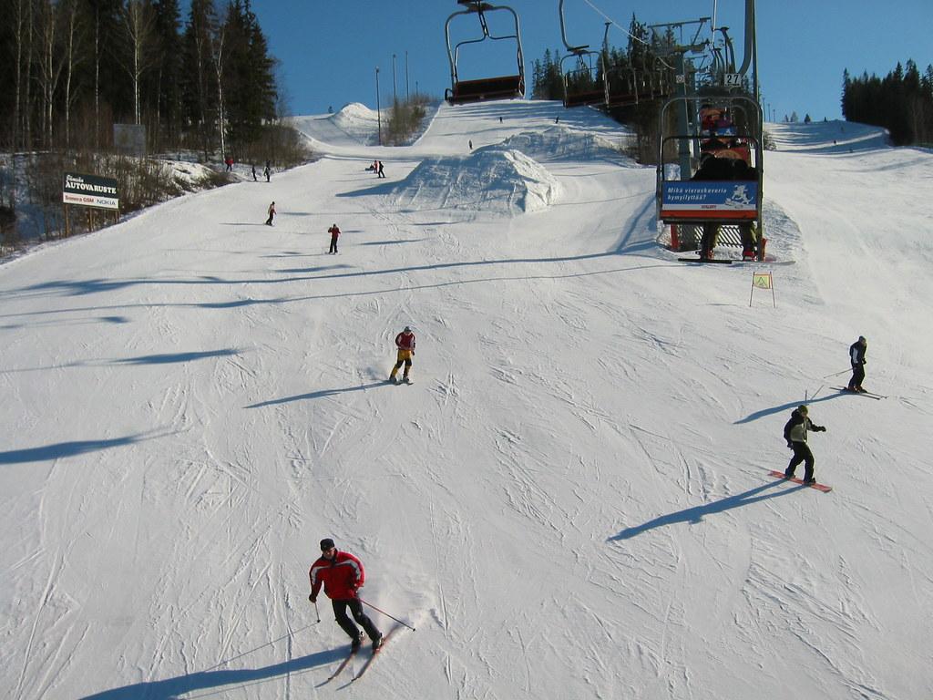 Resort de Ski en Finlandia (Espoo-Helsinki)