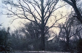 Abandoned House in Winter (1979)
