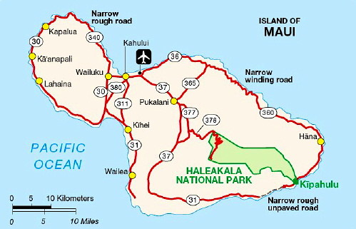Hawaii Map Maui.Maui Map Maui Hawaii Lanai Ka Anapali Kapalua Wailea Kihei Flickr