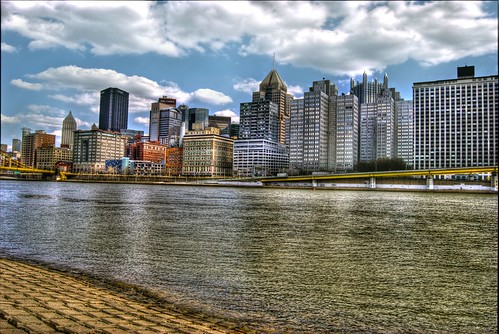 Pittsburgh up the river