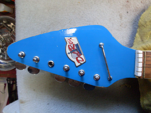 Photo:Del Rey Headstock By Roadside Guitars