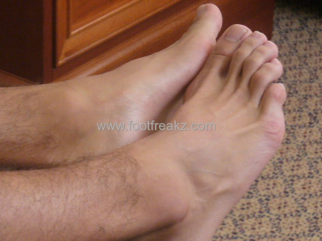 Latino Male Feet